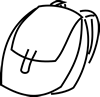 Book bag - wmf | Photos and Images | Clip Art
