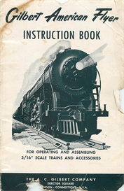 gilbert american flyer instruction book