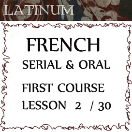 French - Serial and Oral - First Course - Lesson 2 | Audio Books | Languages