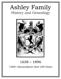 Ashley Family History and Genealogy | eBooks | History