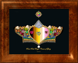 Rare Rich Royal Crown of Glory   Other Files   Arts and Crafts
