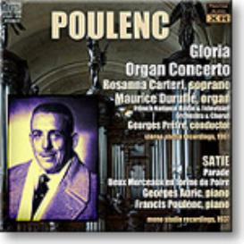 POULENC Gloria, Organ Concerto, Plays Satie, Stereo and Ambient Stereo 16-bit FLAC | Music | Classical