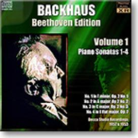BACKHAUS Beethoven Edition Volume 1 - Sonatas 1-4, Ambient Stereo MP3 | Music | Classical
