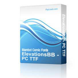 ElevationsBB - TTF | Software | Design