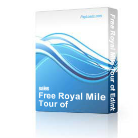 Free Royal Mile Tour of Edinburgh
