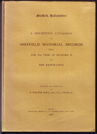 Sheffield Manorial Records | eBooks | Reference
