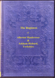 parish registers of allerton mauleverer & of askham richard