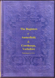 parish registers of austerfield and of cowthorpe, yorkshire