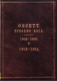 Ossett Burgess Roll 1905-06 & 1913-14 | eBooks | Reference