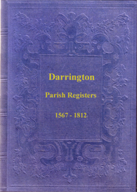 the parish registers of darrington in the west riding of yorkshire.
