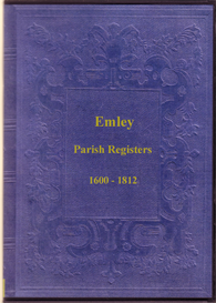 the parish registers of emley in yorkshire.