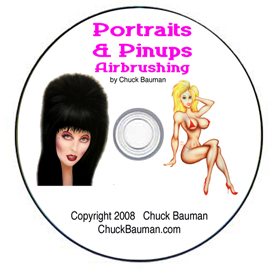 airbrushing portraits & pin-up
