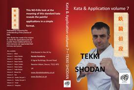 tekki shodan kata & application volume 7