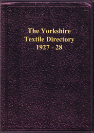 Yorkshire Textile Directory 1927-28 | eBooks | Reference