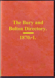 Worrall's Directory of Bury & Bolton 1871. | eBooks | Reference