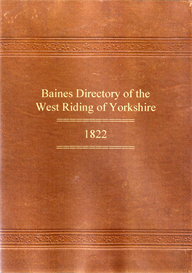 history, directory & gazetteer of the county of york, volume i - west riding