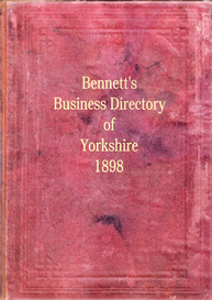 Bennett's Business Directory of Yorkshire 1898 | eBooks | Reference