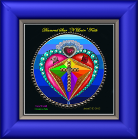 Diamond Star n Lovin Faith_glorified | Other Files | Arts and Crafts