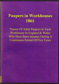 Paupers in Workhouses Ordered by The House of Commons to be printed 30 July 1861. | eBooks | Reference