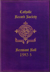 Recusant Roll No. 1., 1592-3. | eBooks | Reference