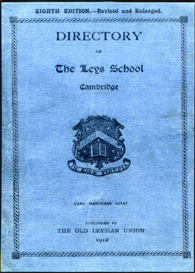 Directory of The Leys School, Cambridge. | eBooks | Reference