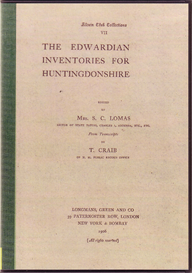 The Edwardian Inventories for Huntingdonshire. | eBooks | Reference