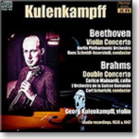 KULENKAMPFF Beethoven Violin Concerto, Brahms Double Concerto, mono 16-bit FLAC | Music | Classical