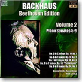 BACKHAUS Beethoven Edition Volume 2 - Sonatas 5-9, mono 16-bit FLAC | Music | Classical