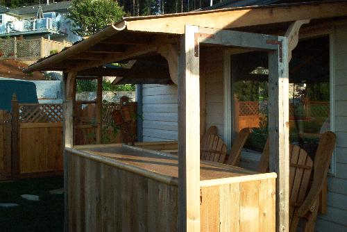 First Additional product image for - Tiki Bar Plans