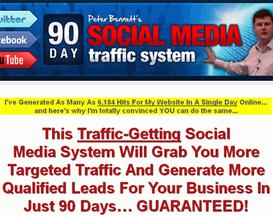 90 days social media traffic system