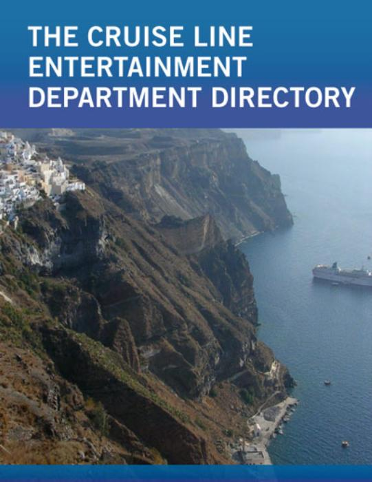 First Additional product image for - Cruise Line Entertainment Department Directory