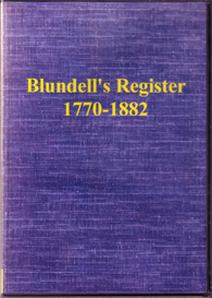 Blundell's Register, 1770-1882 | eBooks | Reference