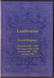 The Parish Registers of Lambourne, Essex | eBooks | Reference