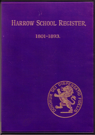 Harrow School Register 1801-1893 | eBooks | Reference