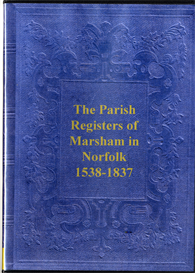 The Parish Registers of Marsham | eBooks | Reference