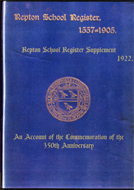 the repton school register 1557-1905