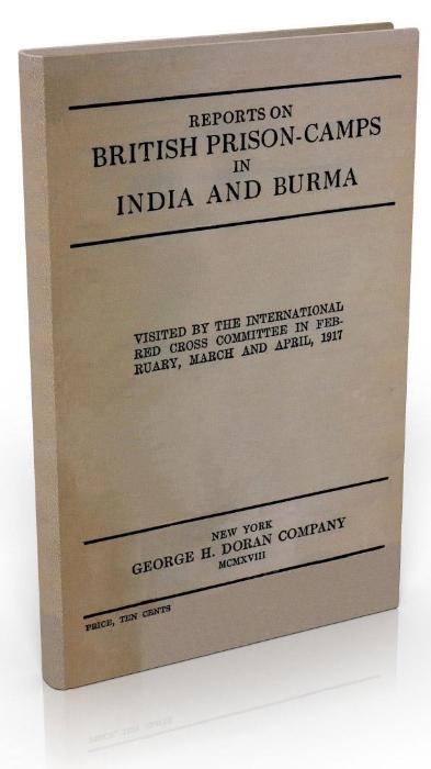 First Additional product image for - Reports On British Prison Camps In India And Burma (1917)