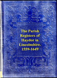 parish registers of haydor in lincolnshire