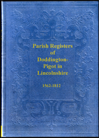 parish registers of doddington-pigot in lincolnshire