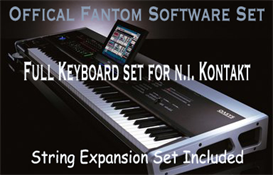 Fantom Keyboard - Full Version - Wav - N.I. Kontakt