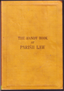 The Handy Book of Parish Law | eBooks | Reference