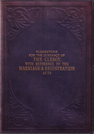 Suggestions for the Guidance of the Clergy, with Reference to the Marriage Registration Acts | eBooks | Reference