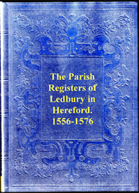 parish registers of ledbury in hereford