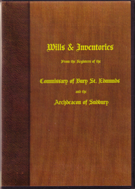 Bury Wills and Inventories | eBooks | Reference