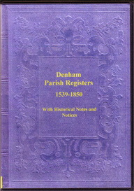 registers of the parish of denham