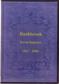 Rushbrook Parish Registers, Suffolk, 1567 - 1850 | eBooks | Reference