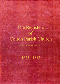 the parish registers of colton in furness fells, in lancashire (now cumbria).