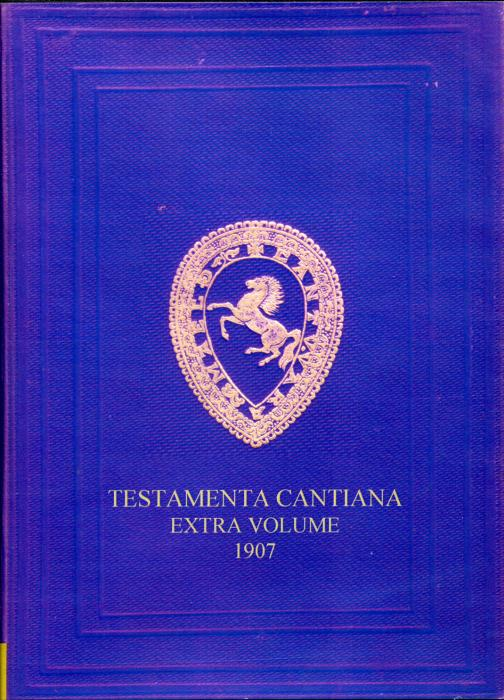 First Additional product image for - Testamenta Cantiana