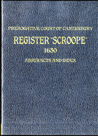 Prerogative Court of Canterbury Register Scroope | eBooks | Reference