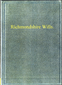 Richmondshire Wills | eBooks | Reference